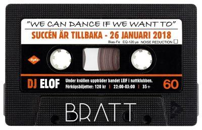 Högt tryck på biljetter för nästa upplaga av Bratts 80-talsfest!