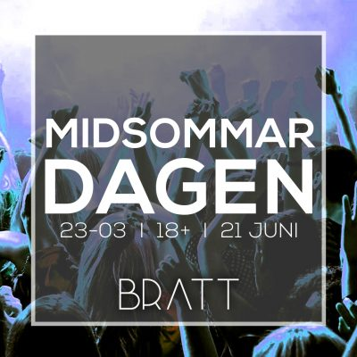 MIDSOMMARDAGEN - 21 JUNI
